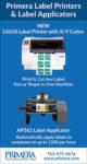 Primera Label Printers & Label Applicators