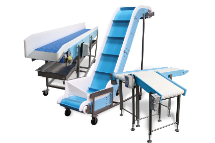 Costs reduced with food processing & packaging conveyors