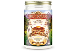 Birch benders, pancake mix, jar packaging