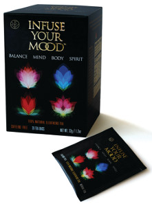 Infuse Your Mood tea packaging