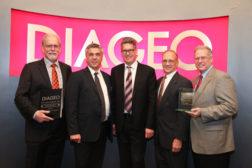 Fowler wins Diageo supplier award