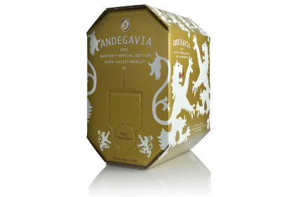 Bag-in box wine packaging