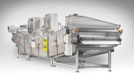 Praxair, Inc. ColdFront cryo-saver cryogenic tunnel freezer