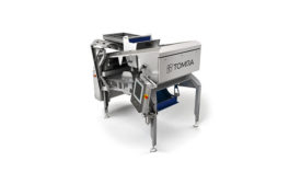 TOMRA Sorting Solutions Blizzard free fall pulsed LED camera sorting machine