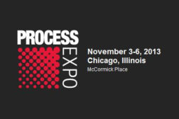 PROCESS EXPO November 3-6, 2013
