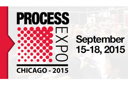 Process Expo September 15-18, 2015