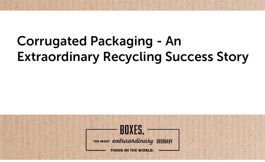 Corrugated Packaging Recycling success story