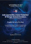 Anti Counterfeit, Brand Protection & Tamper Evident Solutions - Supplier Industry Structure Cover