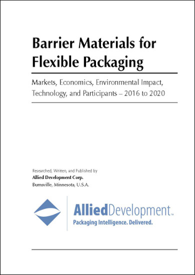 Barrier Materials for Flexible Packaging 2016-2020 Cover Page
