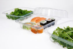 Clear Foodservice packaging