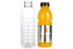 Hot fill bottles PET