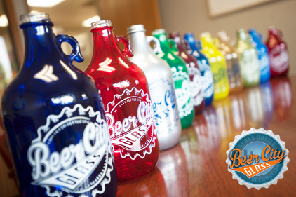 Custom Color beer glass printing