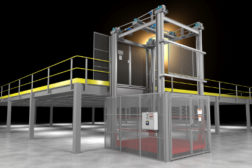 High load capacity four-post VRC debuts with patented safety control system