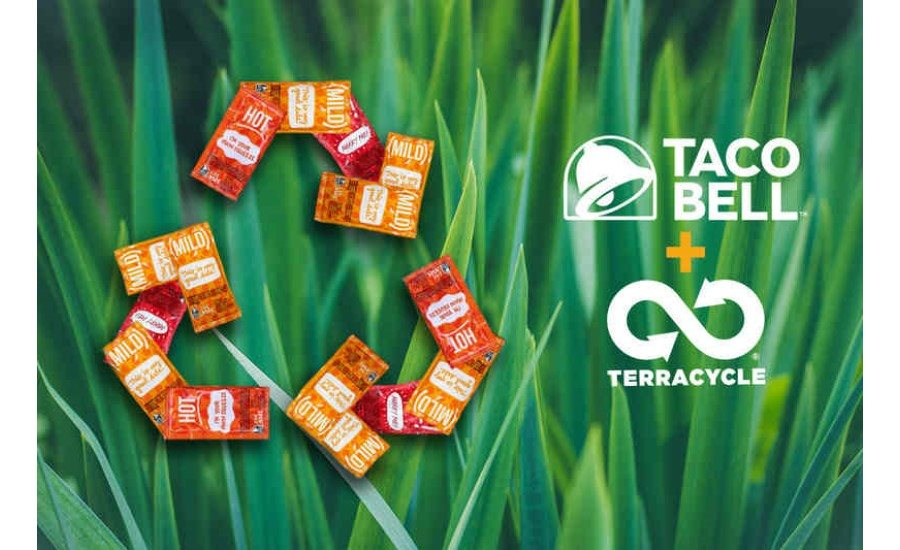 Taco Bell Teams Up with TerraCycle to Recycle Hot Sauce Packets