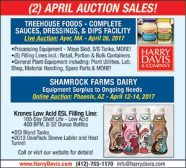 (2) APRIL AUCTION SALES!