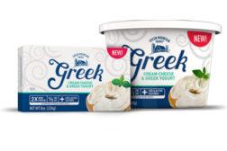 Greek cream cheese debuts at Walmart healthy food packaging