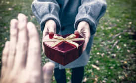 Valentine-Themed Gifts with Great Packaging