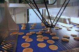 Robots and packaging of pancakes