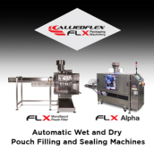 Automatic Wet and Dry Pouch Filling and Sealing Machines