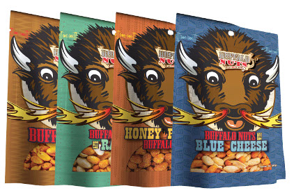 Buffalo Nuts snack bags