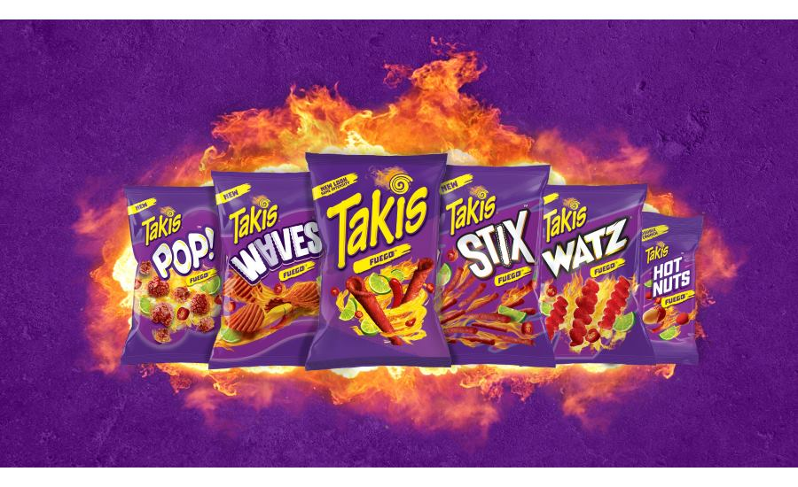 Takis Introduces New Line Up of Snacks and New Look